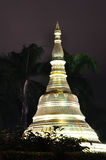 Shwedagon Pagoda,Myanmar(Burma) at night Stock Photo