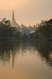 Shwedagon Pagoda at Myanmar Royalty Free Stock Photos