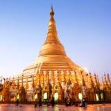 Shwedagon pagoda, Myanmar Royalty Free Stock Images