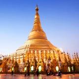 Shwedagon pagoda, Myanmar Royalty Free Stock Photos