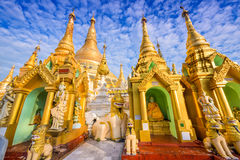 Shwedagon Pagoda of Myanmar Royalty Free Stock Photo