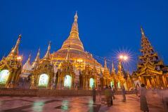Shwedagon Pagoda Royalty Free Stock Photo