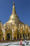 Shwedagon Pagoda - Yangon- Myanmar (Burma) Royalty Free Stock Photo
