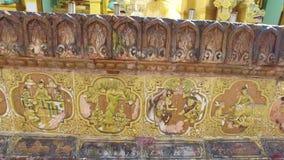 Shwedagon Pagoda ornaments, Myanmar stock video footage