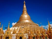 Shwedagon Pagoda-Rangún-Myanmar foto de archivo libre de regalías