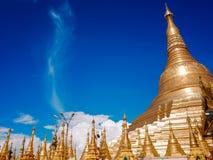 Shwedagon Pagoda-Rangún-Myanmar imagenes de archivo