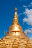 Shwedagon Pagoda, Tachileik, Myanmar Royalty Free Stock Image