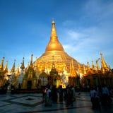 Shwedagon pagoda w Yangon, Myanmar Obrazy Stock