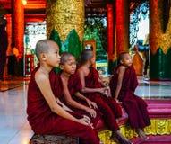 Shwedagon pagoda w Yangon, Myanmar Zdjęcie Stock
