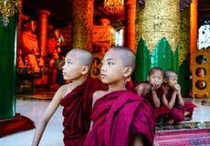 Shwedagon pagoda w Yangon, Myanmar Zdjęcie Royalty Free