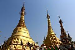 Shwedagon pagoda w Yangon, Myanmar Obraz Royalty Free