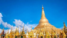 Shwedagon pagoda in Yagon, Myanmar.  Stock Photography