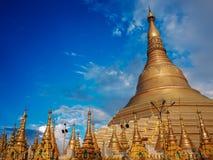 Shwedagon Pagoda-Yangon-Myanmar images stock