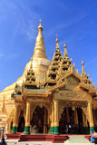 Shwedagon Pagoda-Myanmar Stock Photo