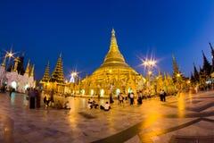 Shwedagon Pagoda. In Yangon - Myanmar Royalty Free Stock Photo