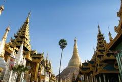 The Shwedagon Pagoda in Yangon Royalty Free Stock Photos
