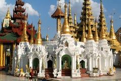 The Shwedagon Pagoda in Yangon Royalty Free Stock Images