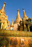The Shwedagon Pagoda in Yangon Royalty Free Stock Photography