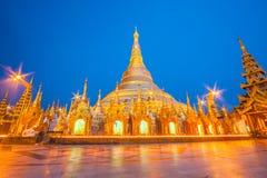 The Shwedagon Pagoda in Yangon, Myanmar Royalty Free Stock Image