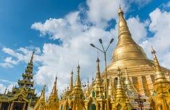 Shwedagon Pagoda in Yangon Royalty Free Stock Photography