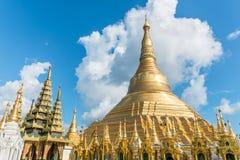 Shwedagon Pagoda in Yangon Stock Images