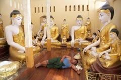 Free Shwedagon Pagoda, Yangon, Myanmar Stock Image - 59697561