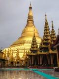 Shwedagon. Pagoda in Yangon, Myanmar Stock Image