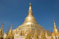 Shwedagon pagoda. At yangon, Myanmar Royalty Free Stock Images