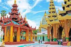 Shwedagon Pagoda, Yangon, Myanmar Royalty Free Stock Photography