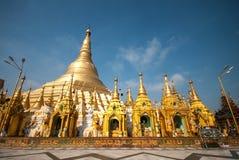 The Shwedagon Pagoda, Yangon, Myanmar Royalty Free Stock Images