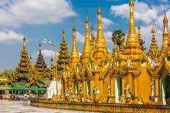 Shwedagon Pagoda  Yangon in Myanmar Royalty Free Stock Images