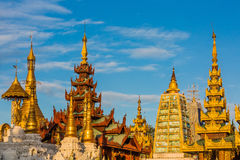 Shwedagon Pagoda  Yangon in Myanmar Royalty Free Stock Photos