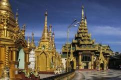 Shwedagon Pagoda in Yangon, Myanmar Burma Stock Photo
