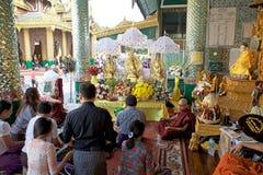Shwedagon Pagoda, Yangon, Myanmar Royalty Free Stock Photos
