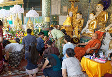 Shwedagon Pagoda, Yangon, Myanmar Stock Photos