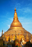 Shwedagon Pagoda in Yangon, Myanmar Royalty Free Stock Photo