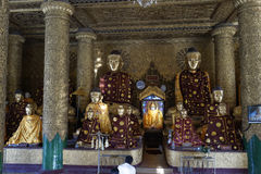 Shwedagon pagoda, Yangon, Myanmar Royalty Free Stock Image