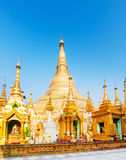 Shwedagon pagoda in Yangon. Myanmar. Stock Photos