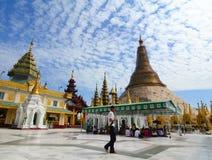 Shwedagon Pagoda in Yangon, Myanmar Royalty Free Stock Photography