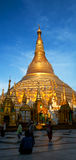 Shwedagon Pagoda in Yangon, Myanmar Royalty Free Stock Images