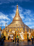 Shwedagon Pagoda in Yangon, Myanmar Royalty Free Stock Photo