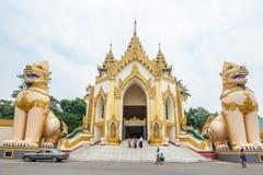 Shwedagon Pagoda Stock Image