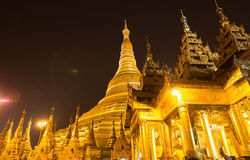 The Shwedagon Pagoda, yangon, Myanmar stock photo