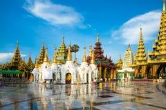 Shwedagon Pagoda in Yangon Stock Photo