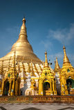 The Shwedagon Pagoda, Yangon, Myanmar Royalty Free Stock Images