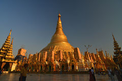 Shwedagon Pagoda,Yangon.Myanmar. Royalty Free Stock Photo