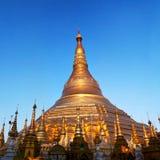 Shwedagon Pagoda in Yangon, Myanmar Royalty Free Stock Photos
