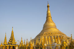 Shwedagon Pagoda in Yangon Stock Photos