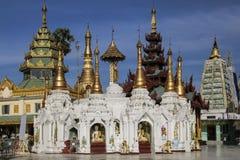 Shwedagon Pagoda in Yangon, Myanmar Burma Stock Photos