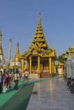 Shwedagon Pagoda in Yangon. Royalty Free Stock Photography